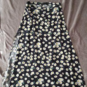 Daisy Maxi Skirt with Side Slits